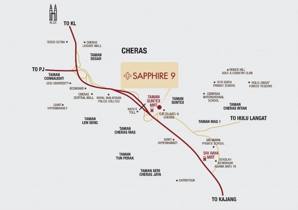 Sapphire 9, Cheras Permai